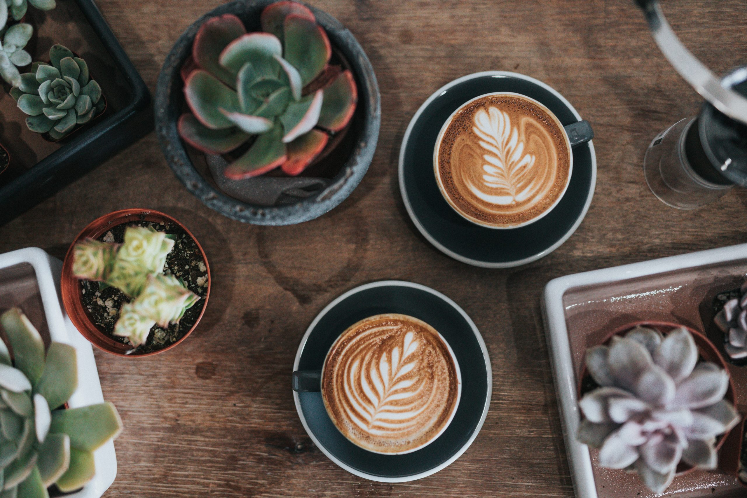 cost to start a business - sitting down to coffee